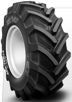 RT747 Radial Tractor Lug R-4 Tires